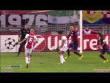 Champions League -2014. 5-тур. Аякс 2:0 Барселона ГОЛ Хюсен  26.11.2013